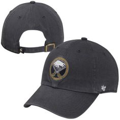 san francisco 2348f 6d049  47 Brand Buffalo Sabres Clean Up Logo Adjustable Hat - Navy Blue