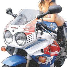 トーマスの【カネがあったら炎の剣】初代ファイヤーブレード 1992 HONDA CBR900RR FIRE BLADE @「RIDE 16」 - LAWRENCE(ロレンス) - Motorcycle x Cars + α = Your Life.