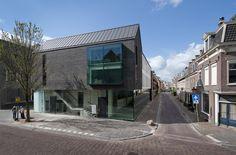 Bakers Architecten_Black House / facade: Kolumba brick K55