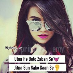[New] The 10 Best Art Today (with Pictures) Crazy Girl Quotes, Attitude Quotes For Girls, Girl Attitude, Girly Quotes, Crazy Girls, Girls Be Like, Funny Quotes, Rajput Quotes, Words To Describe Someone