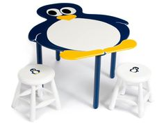 Table and chairs Penguin Life, Penguin Baby, Baby Penguins, Preschool Auction Projects, Penguin Nursery, Everything Baby, Future Baby, Table And Chairs, Pittsburgh