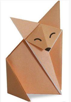 Manualidades en origami para niños ~ Solountip.com