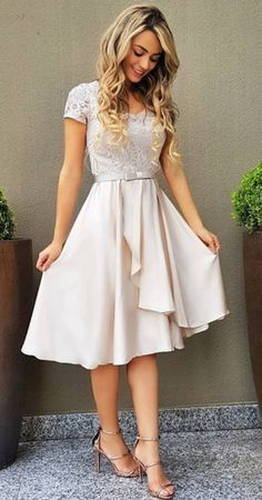 Modest Dresses, Modest Outfits, Pretty Dresses, Beautiful Dresses, Dress Outfits, Fashion Dresses, Formal Dresses, After Wedding Dress, Civil Wedding Dresses