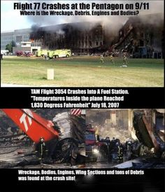 The pentagon was bombed on 9/11. <<< I'm not saying that 9/11 was framed, but it could have been.