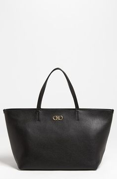 Salvatore Ferragamo 'Bice' Leather Tote available at #Nordstrom