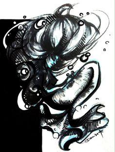 Art from Denise R. Artworks Link: https://www.facebook.com/DeniseR.Artworks?notif_t=page_new_likes Inktober Day 5