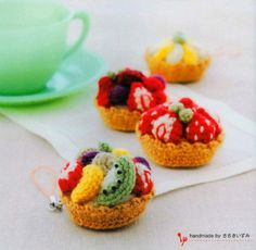 Sweets Desserts Cakes Candy Cookies Biscuits by KawaiiPattern
