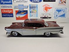 1957 Ford Restomod - Scale Auto Magazine - For building plastic & resin scale model cars, trucks, motorcycles, & dioramas