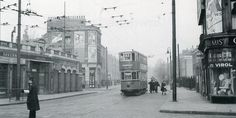 Islington, Ball's Pond Road at Mildmay Park 1952 by C. Carter.
