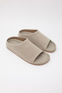Natural Linen, Open Toe, Heeled Mules, Burlap, Espadrilles, Detail, Heels, Leather, How To Wear