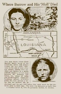 Last Ride For Bonnie & Clyde Bonnie Parker, Bonnie And Clyde Death, Bonnie And Clyde Photos, Mafia, Famous Outlaws, The Babadook, Al Capone, Jesse James, Historical Pictures