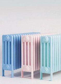 pastel radiators.