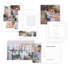 Certificate certificate templates certificate design and ai gifted set of 3 gift templates vol1 by oh snap boutique on creativemarket certificate templatesgift certificatesphotography yelopaper Images