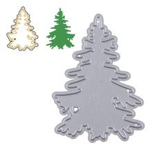 1 piece Christmas tree Cutting Dies For DIY Scrapbooking Photo Album Embossing Folder Stencil Die Cut CT-021(China (Mainland))