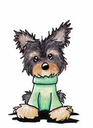 About the Art: Images - Frompo Yorshire Terrier, Disney Kunst, Disney Art, Yorkshire, Puppy Drawing, Arte Tribal, Artwork Images, Pottery Painting, Dog Cat