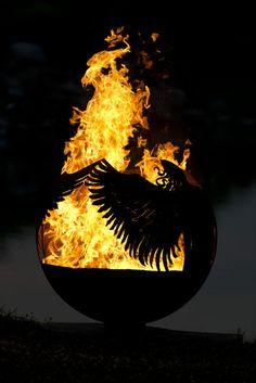 Hidden Angel Wood Burning Fire Pit $1600
