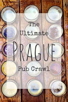 Prague's best bars. Get your party on at the best bars in Prague. The ultimate Prague pub crawl.: