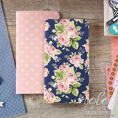 WEBSTER'S PAGES: Color Crush Travelers Notebook Inserts (Notepad Set IV)