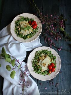 POLLO ALLA GRIGLIA CON RUCOLA, SCAGLIE DI PARMIGIANO E NOCI #chicken #recipes #ricette #recette #light #foodphotography #summer #pretty #delish #yum