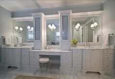 Luxury Bathroom Master Baths Bathtubs is very important for your home. Whether you choose the Luxury Master Bathroom Ideas or Interior Design Ideas Bathroom, you will make the best Luxury Bathroom Master Baths Paint Colors for your own life. Bathroom Renos, Small Bathroom, Vanity Bathroom, Bathroom Ideas, White Bathroom, Bathroom Cabinets, Turquoise Bathroom, Turquoise Kitchen, Bathroom Makeovers