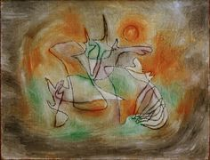 Image: Paul Klee - Heulender Hund,