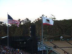 California Bear Flag in 2009 During World Baseball Classic at Dodgers Stadium | Bear Flag Museum