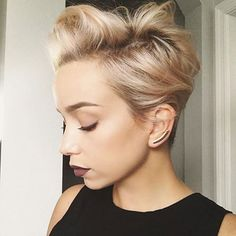 Easy & Classy Short Pixie Crops Hairstyles 2017-2018