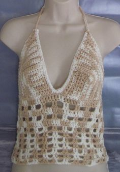 Beach Crop Top  by sunandshore on Etsy