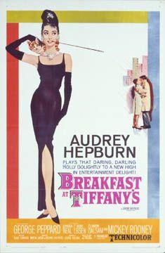 Breakfast at Tiffany's movie poster 1961 Blake Edwards
