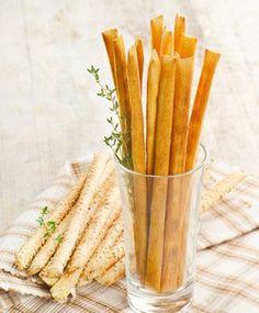 Rezept für italenische Grissini
