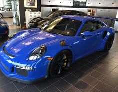 Porsche 991 GT3 RS painted in paint to sample Maritime Blue  Photo taken by: @ddwcarsinaz on Instagram