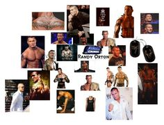 """wwe sexy randy orton"" by tabitha-escoe ❤ liked on Polyvore featuring CENA"