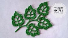 Discover recipes, home ideas, style inspiration and other ideas to try. Crochet Flower Patterns, Lace Patterns, Crochet Motif, Crochet Flowers, Crochet Stitches, Free Crochet, Pattern Flower, Crochet Leaves, Irish Lace