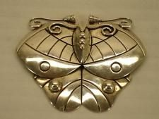 1940's signed William Stratling Butterfly Brooch Pin Sterling Silver TS-24 Taxco