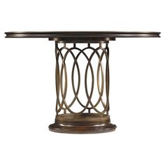 Stanley Furniture Avalon Heights Neo Deco Pedestal Dining Table in Chelsea - Luxury Dining Tables, Outdoor Dining Furniture, Patio Furniture Sets, Furniture Ideas, Furniture Design, Metal Furniture, Furniture Makeover, Garden Furniture, Transitional Dining Tables