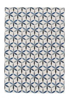 Starflower Blue by Edward Barber & Jay Osgerby for The Rug Company