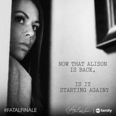 """S5 Ep12 """"Taking This One To the Grave"""" - Definitely. #PLL #FatalFinale"""