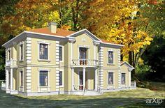 Дом «Классика»: архитектура, 2 эт   6м, жилье, неоклассика, 500 - 1000 м2, фасад - кирпич, особняк #architecture #2fl_6m #housing #neoclassicism #500_1000m2 #facade_brick #detachedhouse #palace #penthouse arXip.com