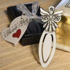 Angel Design Bookmark Favors at WeddingFavors.org