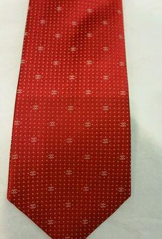 Chanel chic & luxury Tie  NW$220 (Last precious stock! Great gift !) #Chanel #NeckTie