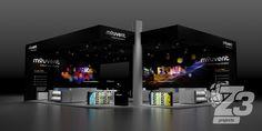 Premium - Eckstand Exhibitions, Desktop Screenshot, Flat Screen, Projects, Design, Welcome, Blood Plasma, Log Projects, Blue Prints