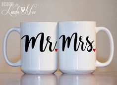 Hey, I found this really awesome Etsy listing at https://www.etsy.com/listing/271957954/mr-and-mrs-mug-mr-and-mrs-coffee-mugs
