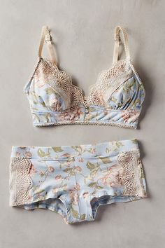 Underella Wildflower Lace Hipsters - anthropologie.com