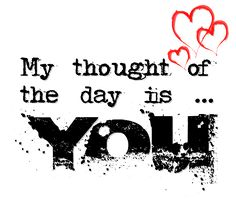 My Thought of The Day is...