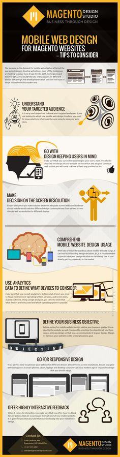 In this modern era, various new mobile web design trends are introduced that ecommerce retailers can adopt to make their Magento based websites popular and feature-rich. Here in this post, you can find some tips that you need to consider when you are looking to adopt mobile web design trends for your Magento based websites. URL : http://www.magentodesignstudio.com/magento-mobile-design-company