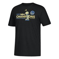 18dc6a42e26 Golden State Warriors adidas Youth 2017 NBA Finals Champions Locker Room T- Shirt http