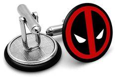 Deadpool Symbol Cufflinks