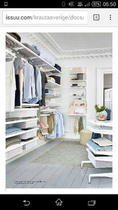 garderob on Pinterest | Elfa Closet, Closet and Container Store