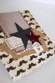Mustache / diy cards