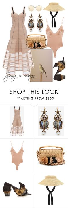 """spring is coming"" by sofizophe ❤ liked on Polyvore featuring Stephenson, Alexander McQueen, For Love & Lemons, Sanayi 313, Gucci and Victoria Beckham"